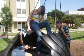 giant tire swing